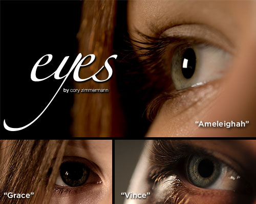 eyes - by cory zimmermann
