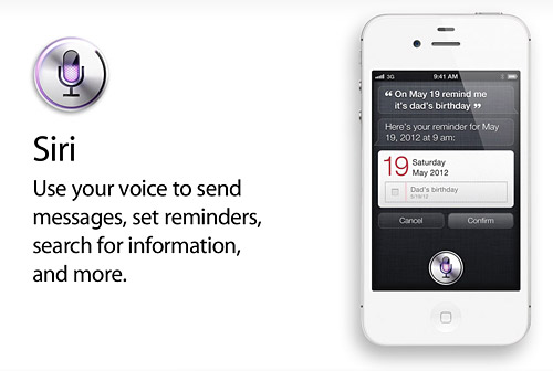 Siri on iPhone 4S