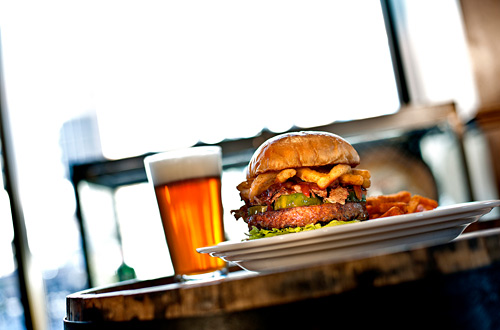 Food: Beer and Burger