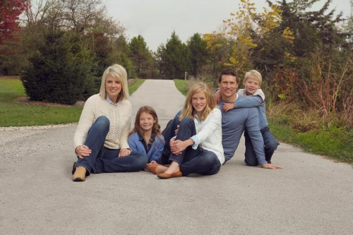 Beth and her family